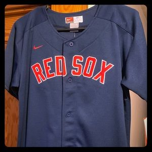 NWT authentic Red Sox Jersey.